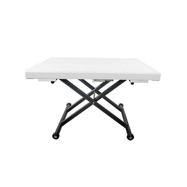 Outdoor Furniture Wentzel Extendable Cross Legs Coffee Table