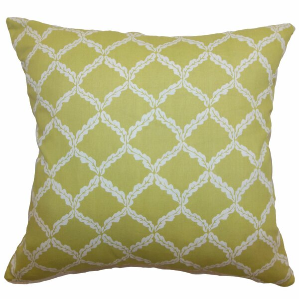Saratoga Geometric Floor Pillow by Red Barrel Studio