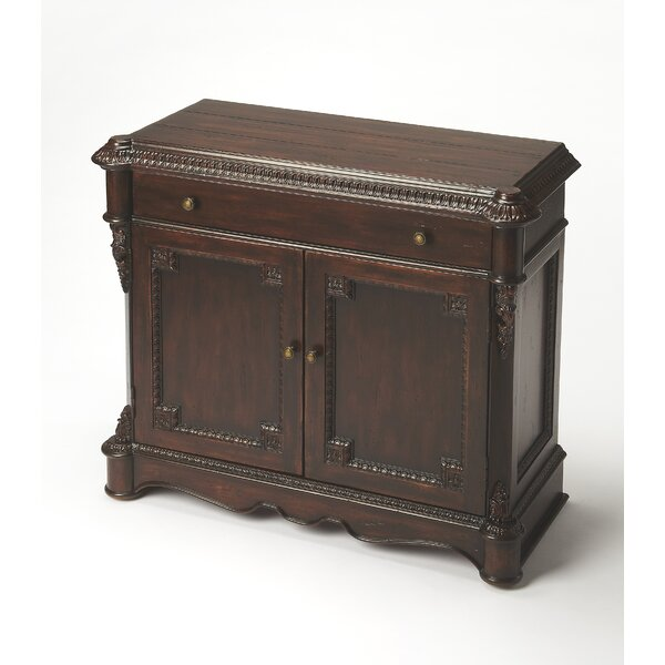 Beeching 1 Drawer 2 Door Accent Cabinet by Astoria Grand