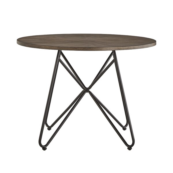 Charleigh Iron Legs Dining Table by Gracie Oaks