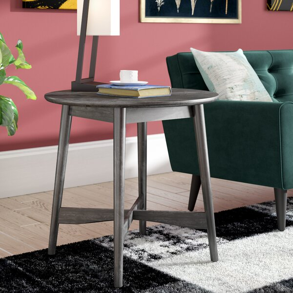Dogwood Mid-Century Modern End Table by Ivy Bronx