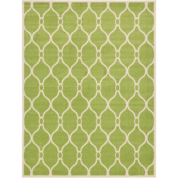 Molly Green Area Rug by Winston Porter