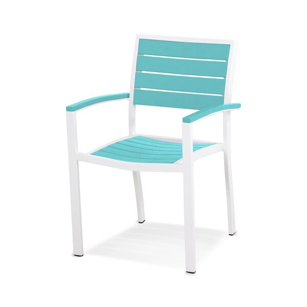 Euro Stacking Patio Dining Chair By POLYWOOD®