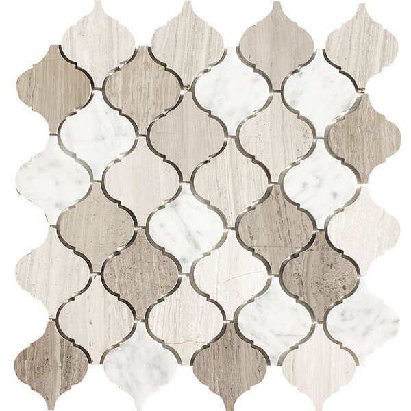 Santa Maria Studio Blend Stone Mosaic Tile Polished by Parvatile
