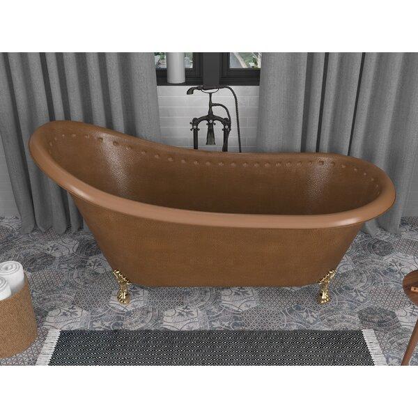 Java 66 x 31 Clawfoot Soaking Bathtub by ANZZI
