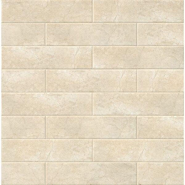 Classique 4 x 16 Ceramic Field Tile in Beige by MSI