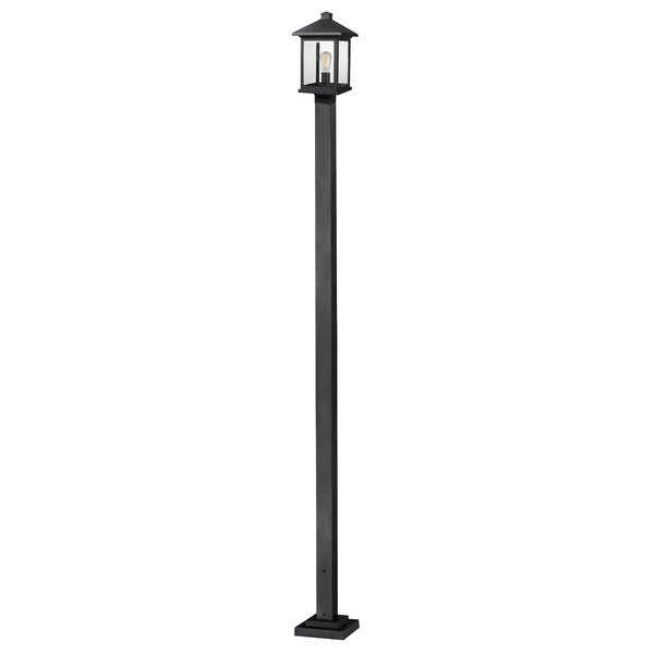 Leroy Contemporary 1-Light 112 Post Light by 17 Stories