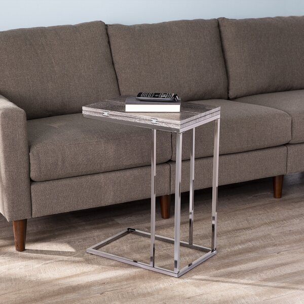 Clarkdom Sled End Table By Latitude Run