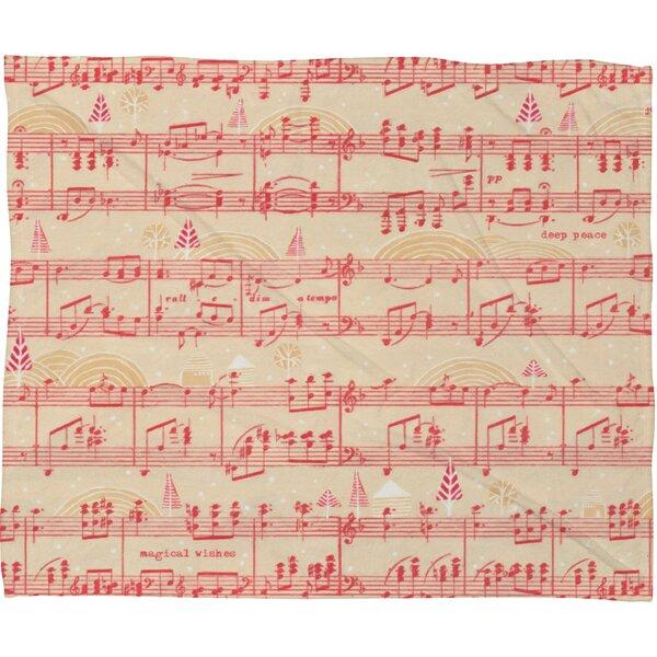Donmoyer Magical Holiday Wishes Fleece Throw Blanket by Brayden Studio