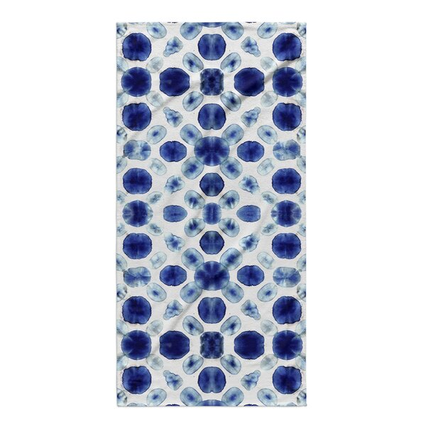 Janis Circle Bath Towel by Ebern Designs
