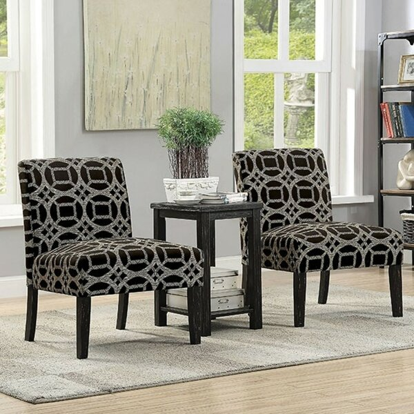 Gisla 3 Piece Living Room Set by Wrought Studio