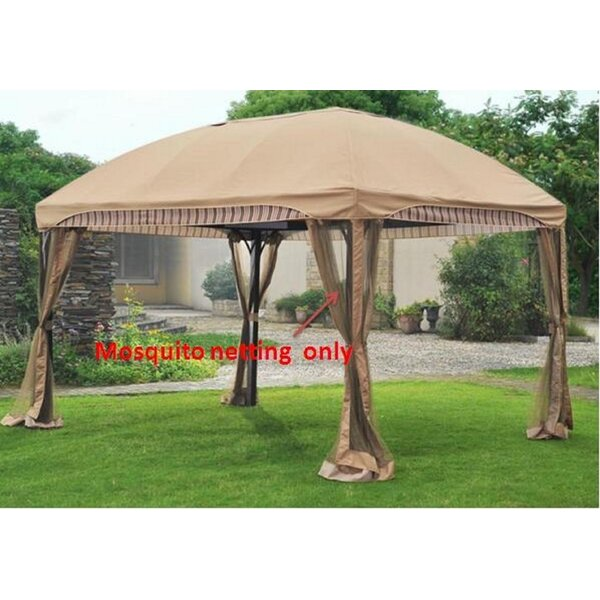 Replacement Mosquito Netting for Curve Gazebo by Sunjoy