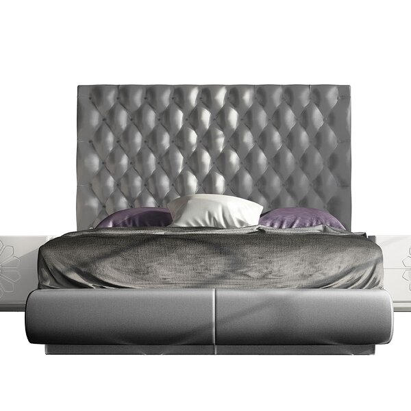 Dunson Upholstered Standard Bed by Everly Quinn