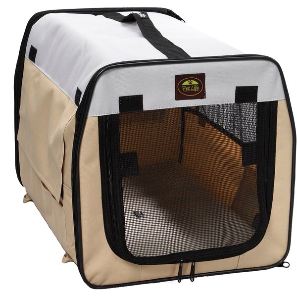 Zippered Easy Carry Pet Carrier by Pet Life