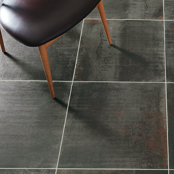 Common Core 24 x 24 Porcelain Field Tile in Charcoal by PIXL