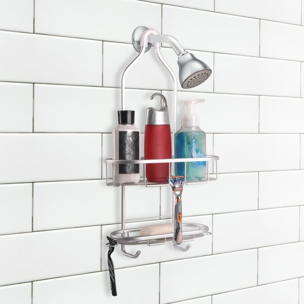 2 Shelf Rustproof Shower Caddy by Utopia Alley