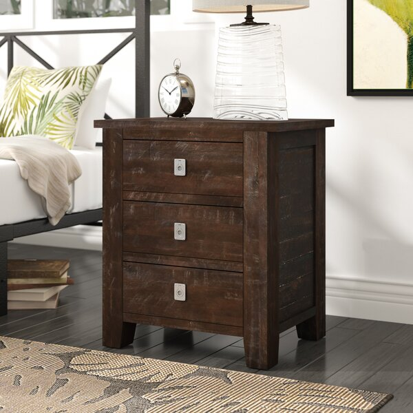 Cadwallader 3 Drawer Nightstand by Darby Home Co
