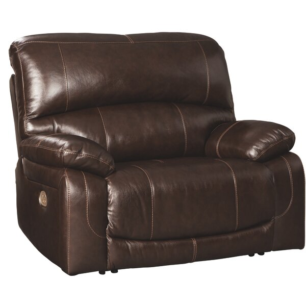 Pisano Leather Power Recliner By Red Barrel Studio