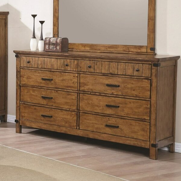 Beulah Valley 8 Drawers Double Dresser by Loon Peak