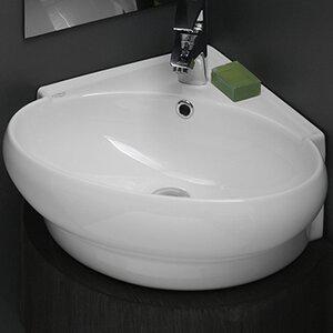 Modern Corner Bathroom Sinks | AllModern