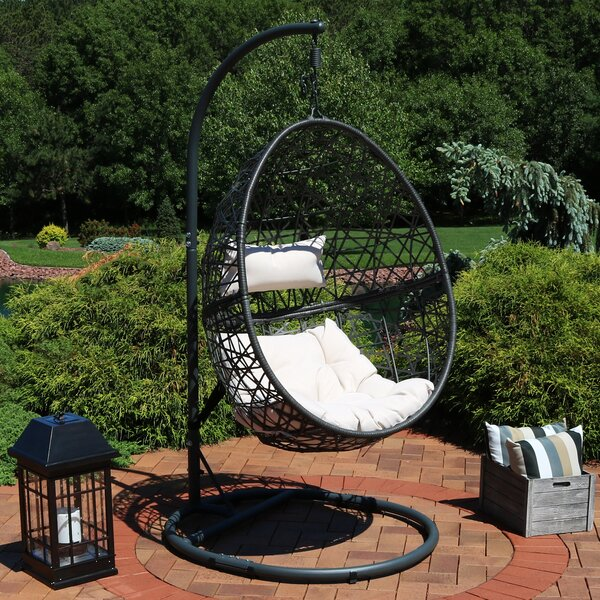 Abel Hanging Egg Swing Chair with Stand by Brayden Studio Brayden Studio