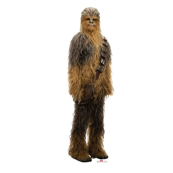 Star Wars VIII the Last Jedi Chewbacca™ Cardboard Cutout Standup by Advanced Graphics
