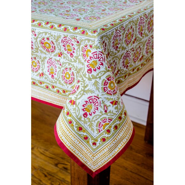 Gipson Square Tablecloth by Bungalow Rose