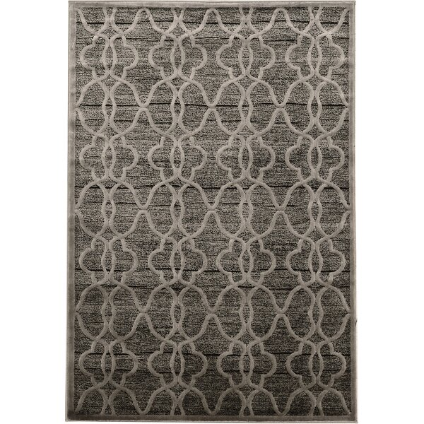 Belper Gray Area Rug by House of Hampton