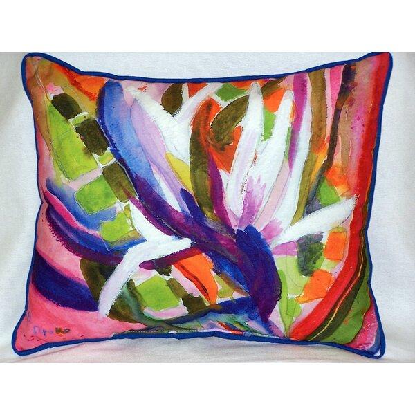 Mahgreb Outdoor Lumbar Pillow by Bungalow Rose