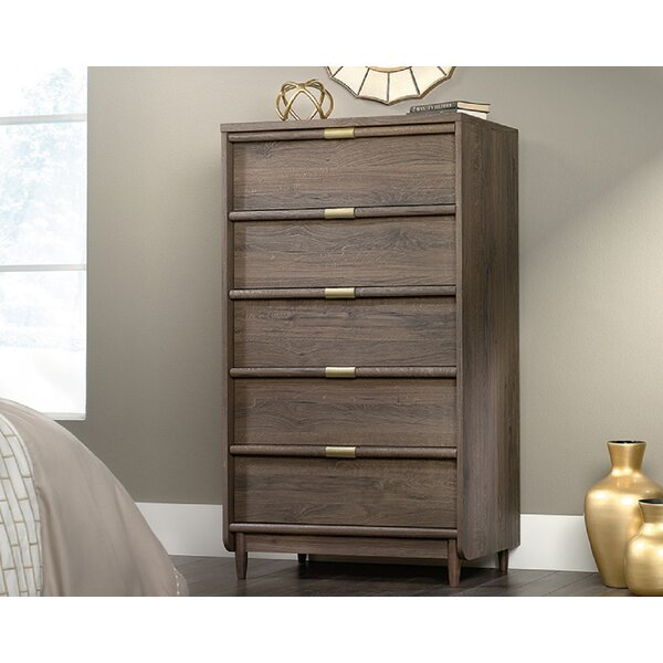 Culley 5 Drawer Standard Chest by Everly Quinn