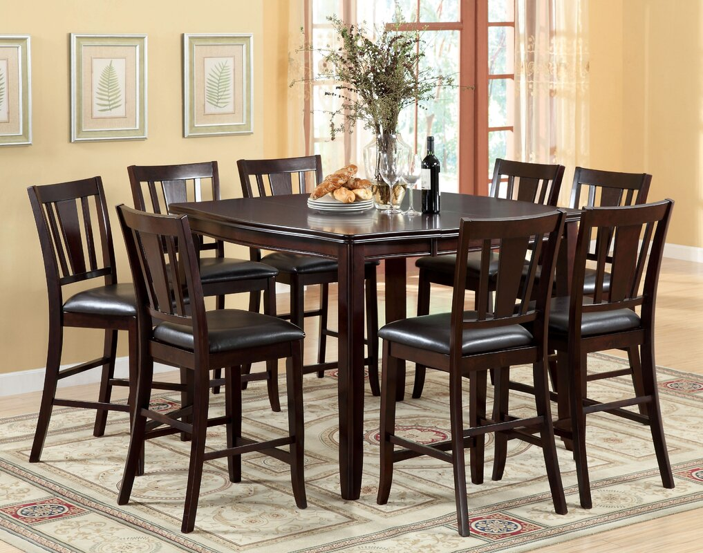 Birchover 7 Piece Counter Height Dining Set