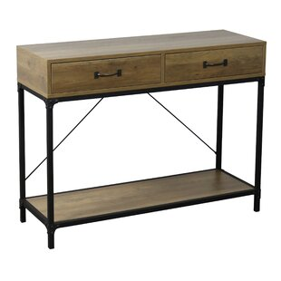 Janell Antique Console Table