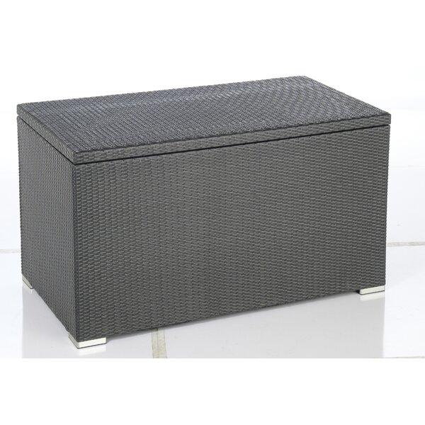 Sicuro 220 Gallon Wicker Deck Box by Alfresco Home Alfresco Home