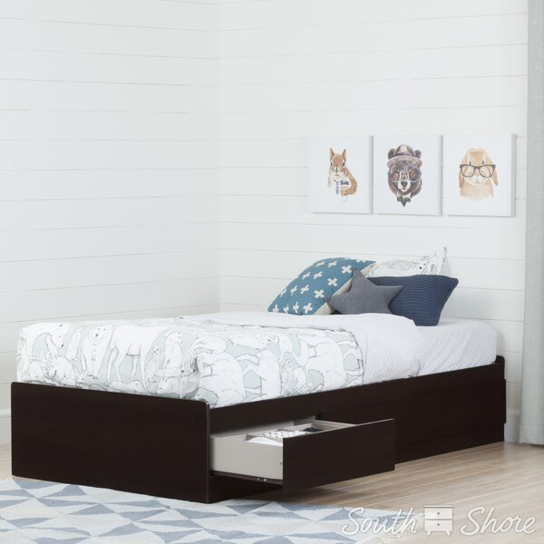 Step One Twin Mates Bed with Drawer by South Shore