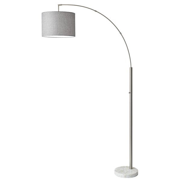 Vickrey 73.5 Arched Floor Lamp by Wrought Studio