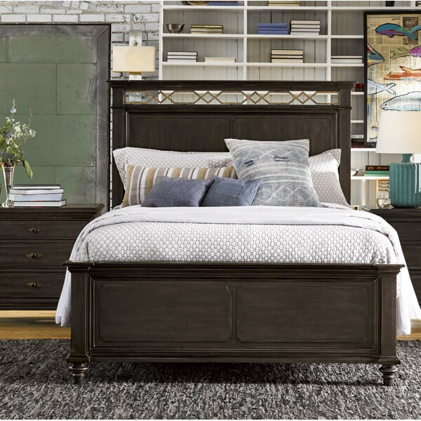 Gatefield Wood Standard Bed by Darby Home Co