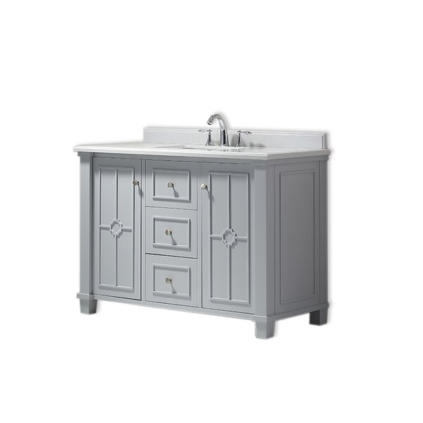 Positano 48 Single Bathroom Vanity Set by Ove Decors