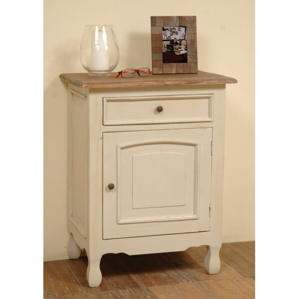 Vonda 1 Door Accent Cabinet by August Grove August Grove