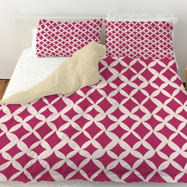 Banias Diamond Duvet Cover by Manual Woodworkers & Weavers