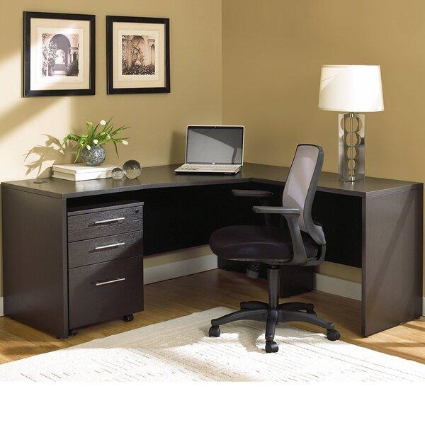 Pro X Corner L-Shape Executive Desk by Haaken Furniture
