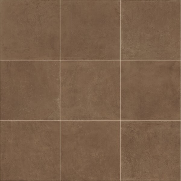 Fairfield 24 x 24 Porcelain Field Tile in Cotto by Itona Tile