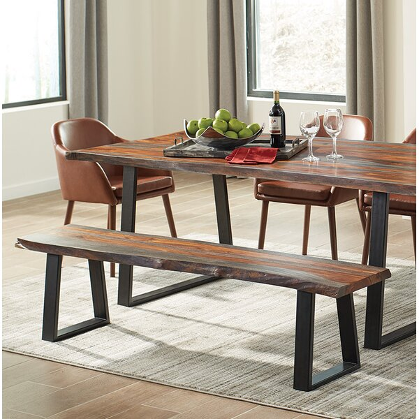 Ditman Solid Wood Bench by Foundry Select Foundry Select