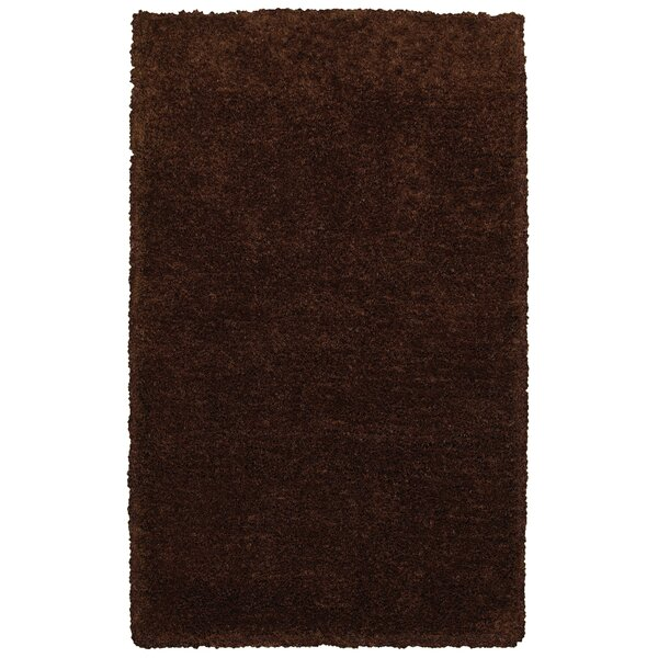 Hand-Tufted Brown Area Rug by The Conestoga Trading Co.