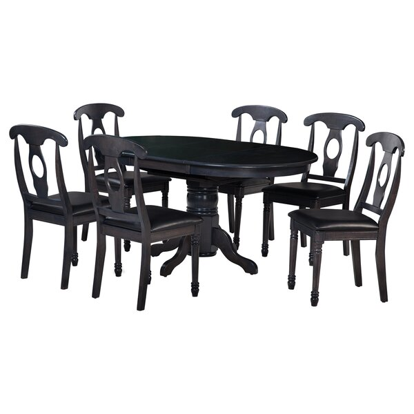 Valleyview 7 Piece Solid Wood Dining Set by TTP Furnish
