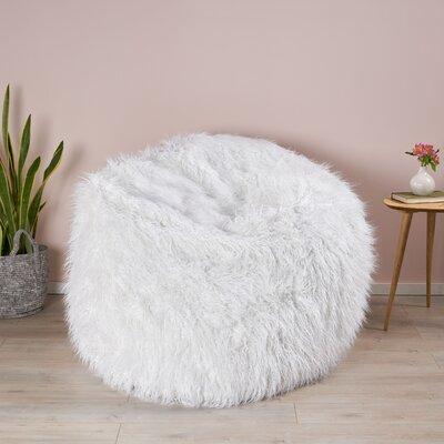 White Furry Chairs Wayfair