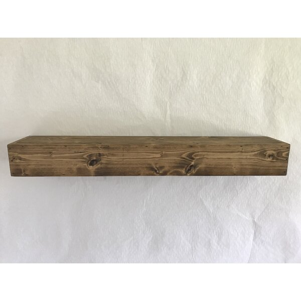 Reclaimed Wood Floating Shelf by Essex Hand Crafte