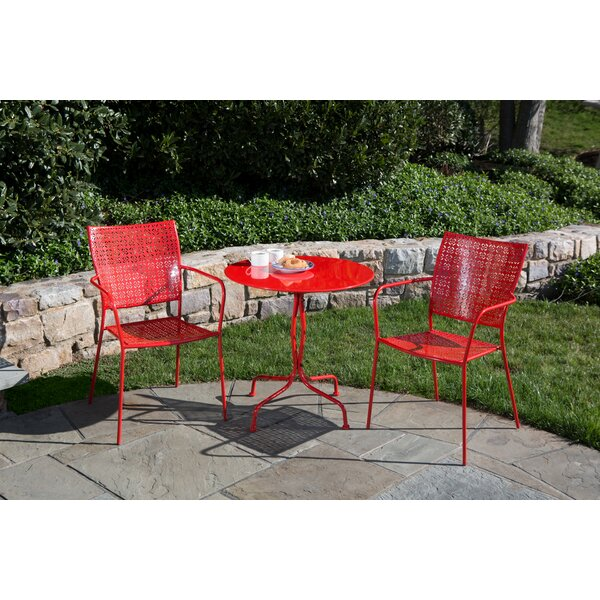 Martini 3 Piece Bistro Set by Alfresco Home