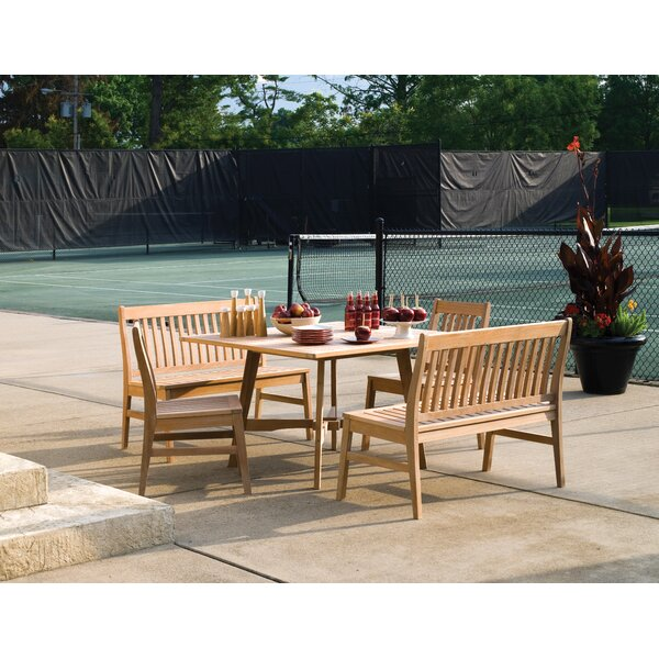 Laney 5 Piece Dining Set by Breakwater Bay