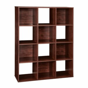 Princeto 12 cube storage bookcase by charlton home top for Storage charlton