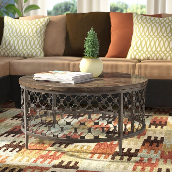 Lunde Coffee Table by Red Barrel Studio Red Barrel Studio